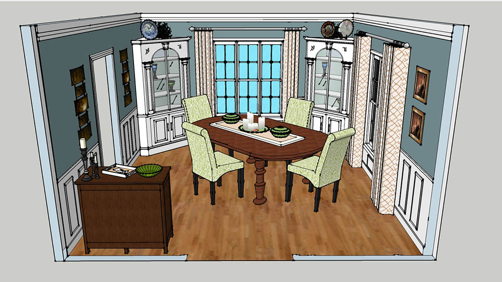 CAD Milwaukee Dining Room