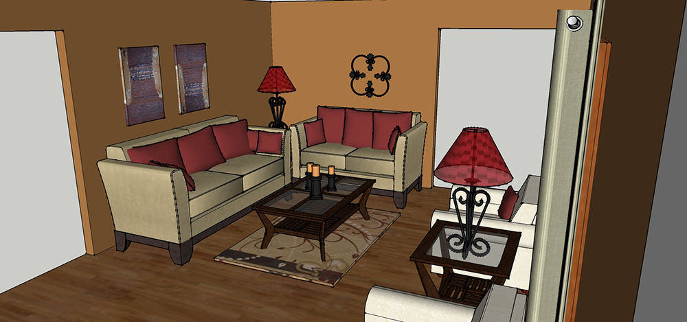 Interiors Designed CAD Concept
