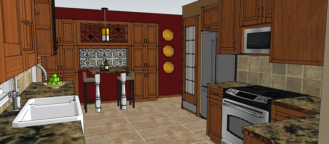 CAD Brookfield Kitchen