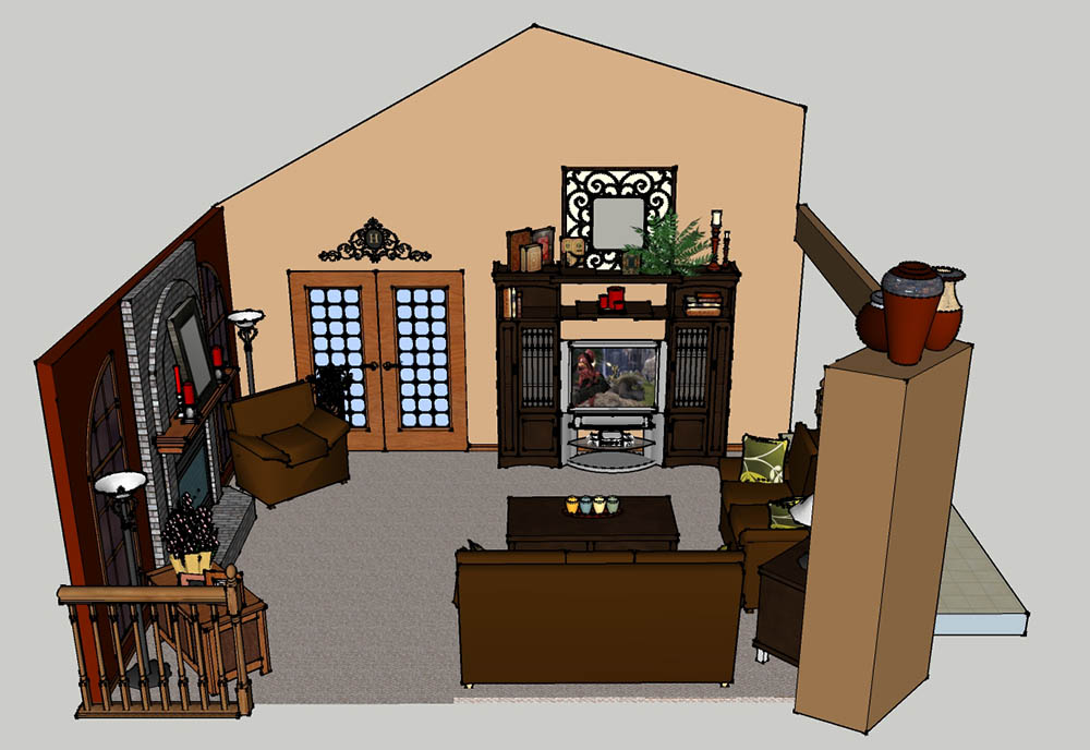CAD Burlington Family Room