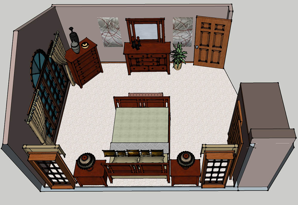CAD Dover Master Bedroom