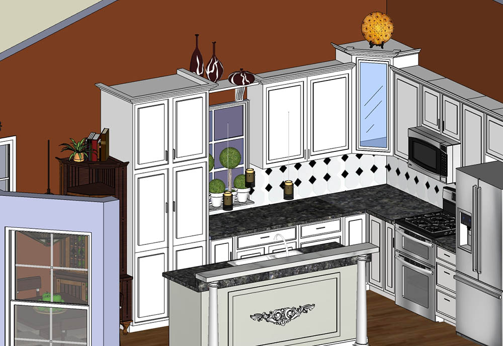 CAD Florida Kitchen